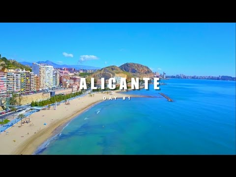 ALICANTE  BEACH DAY #1