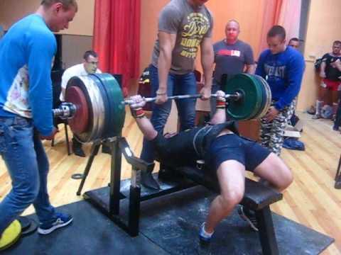 ''Кубок Полесья''- 2016 г. Дмитрий Шашков, 305 кг.