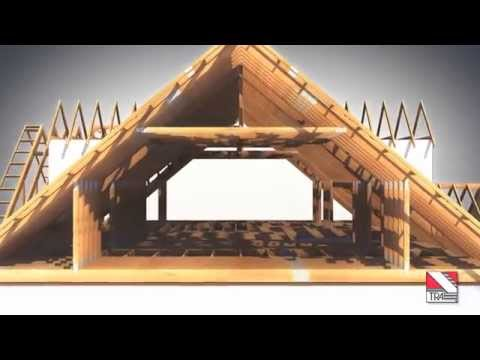 Tra Trussed Rafters Amp Metal Web Joists Youtube