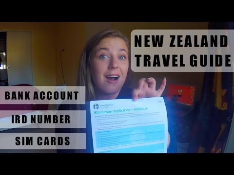BACKPACKING NEW ZEALAND: BANK ACCOUNTS, TAX NUMBER AND SIM CARD