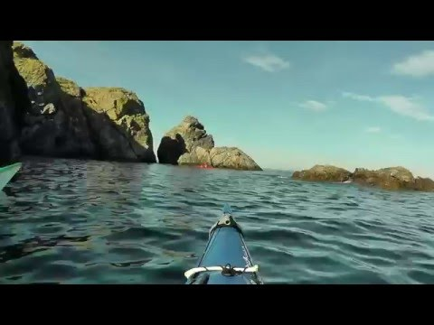 Sea Kayaking the North East Passage -  Portsoy - Findlater Castle.