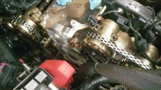 In vehicle GM 3.6L VVT timing chain replacement (code P0008) teardown gotchas and hints