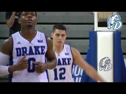 Drake Men's Basketball vs. Chicago State Highlight