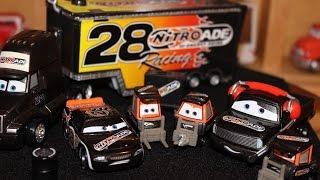 Mattel Disney Cars Piston Cup Team Nitroade Die-casts
