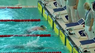 """""""Всероссийские соревнования по плаванию среди юношей и девушек (25м)"""", 200м Баттерфляй"""