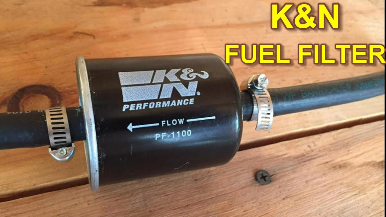 Nissan Maxima K U0026n Fuel Filter Installation