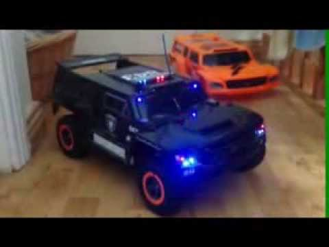 Traxxas Police Hummer Youtube