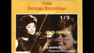 Respighi-Violin Concerto (Concerto Gregoriano)-(1/3)-Andante tranquillo-Allegro molto modarato