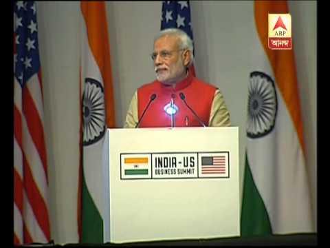 PM Modi on India's progress in  India-US Business Summit