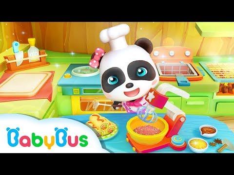 Little Panda's Restaurant | Cooking Pretend Play | Kids Games | Game Trailer | BabyBus Game