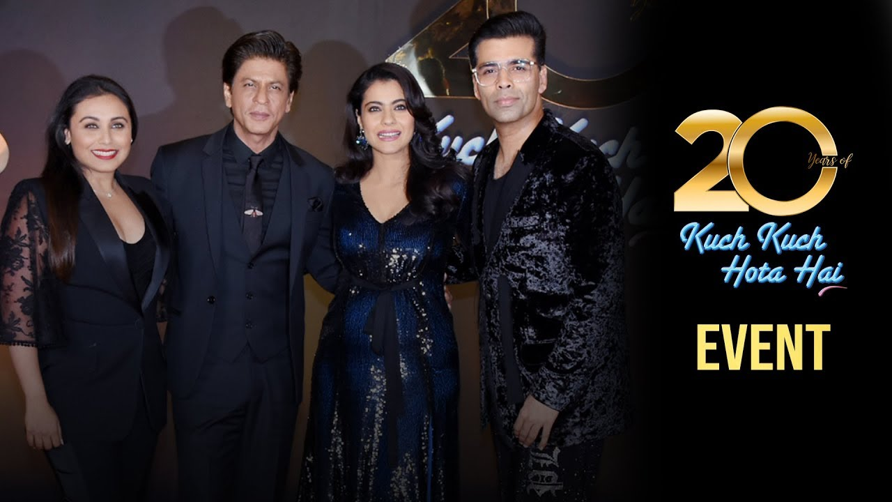 Celebrating 20 Years Of Kuch Kuch Hota Hai Karan Johar Shah Rukh