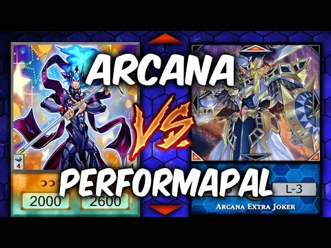 WHAT ARE THESE?! Yugioh PERFORMAPAL vs ARCANA (Yu-gi-oh Competitive Deck Dueling)