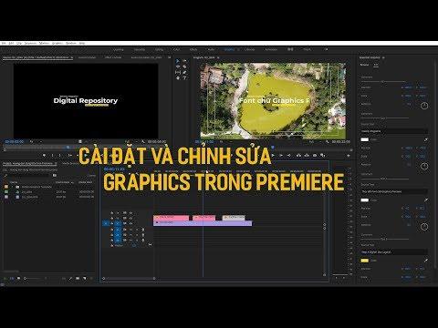 Cài đặt và chỉnh sửa Graphics Template Adobe Premiere Pro |  Graphics Template Premiere