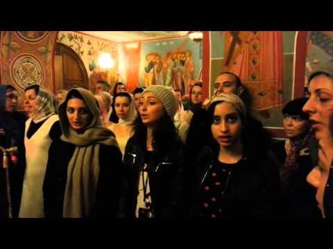грузинский женский хор Христос Воскрес на грузинском