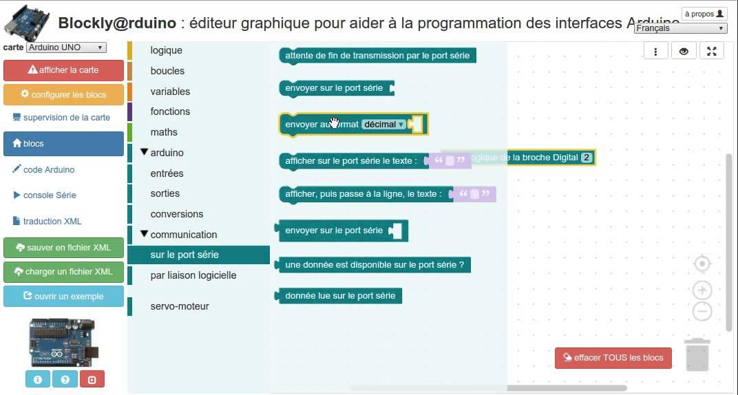 Premier programme Arduino