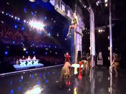 Circus of Horrors (Freak Show) BRITAINS GOT TALENT 2011 HD