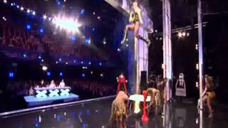 Circus of Horrors (Freak Show) BRITAINS GOT TALENT 2011 HD