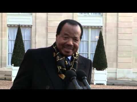Interview à la presse internationale par Paul Biya: Sur les relations bilatérales France-Cameroun