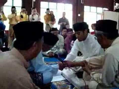 Majlis Akad Nikah Haji Azman & Juliana
