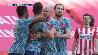 Tadić u Finišu Derbija Potpuno Pogubio Živce, Igrači ga Smirivali   PSV vs Ajax   SPORT KLUB FUDBAL