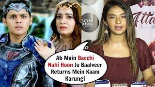 Anushka Sen Sh0cking Reaction On Not Acting In Baalveer Returns!
