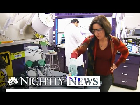 Inside the Top-Secret Nuclear Lab at Forefront of Cancer Research | NBC Nightly News