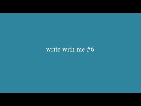 write with me #6