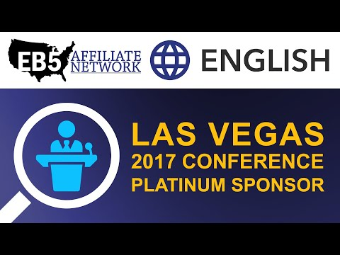 EB5 Affiliate Network Las Vegas 2017 Conference Platinum Sponsor
