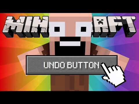 If an Undo Button was Added to Minecraft