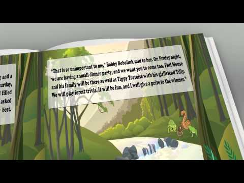 Bobby the Bobolink Children's Book Trailer