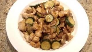 Mushroom Chicken Stir Fry Recipe