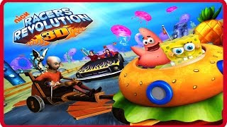 Nickelodeon Online Games - Episode Nick Racers Revolution 3D - Nickelodeon Games