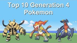 Top 10 Generation 4 Pokemon