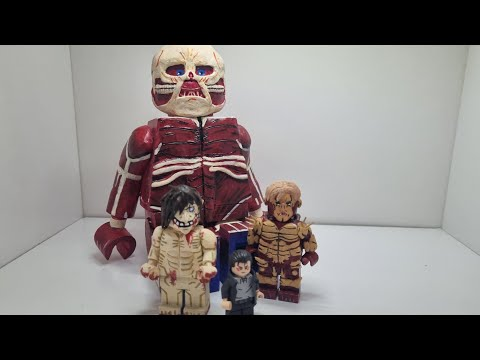 Attack on Titan custom lego minfigures