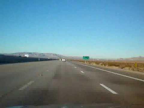 from California into Nevada (Santa Barbara to Las Vegas part three of four)