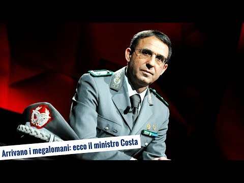 Arrivano i megalomani: ecco il ministro Costa (5 giu 2018)