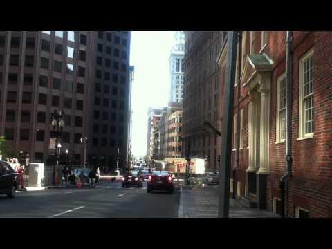 RIPD crash scene- State St. Boston