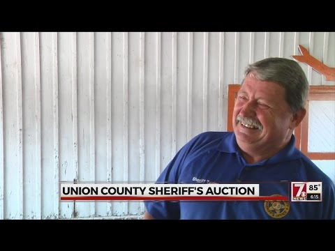Union Co. Sheriff auctions stolen, unclaimed and seized items