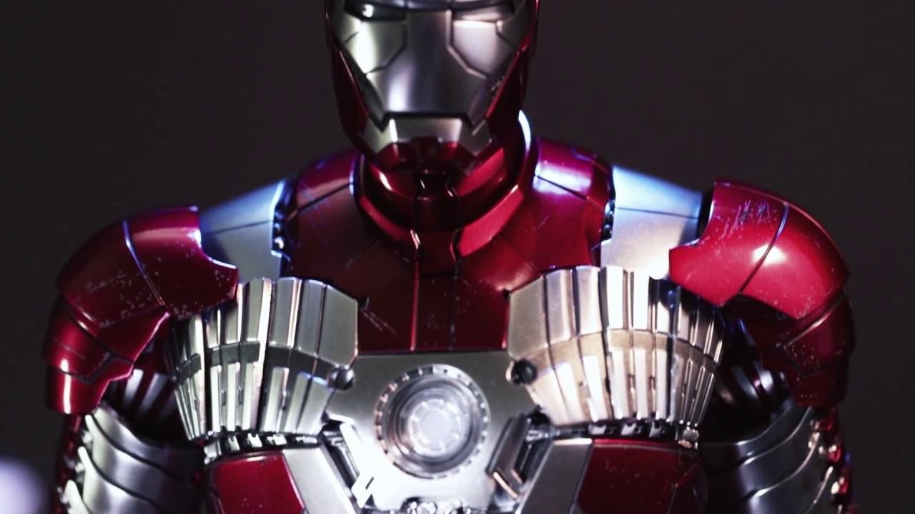 Diecast Mark 5 Iron Man 2 Prototype By Hot Toys At Secret Base Hk
