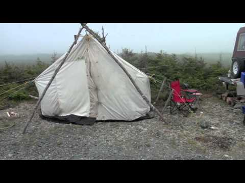 Avalon Wilderness Area - Newfoundland - Canada Day Weekend Fishing Trip - PART #1