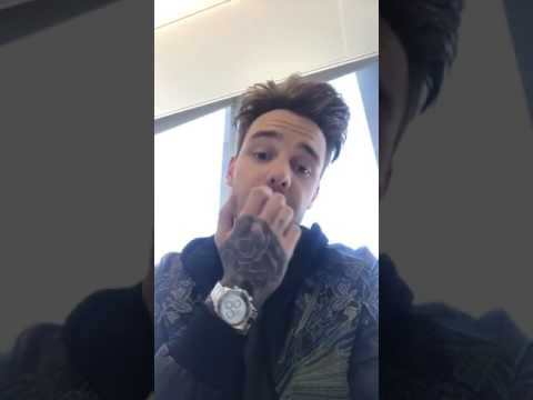 Liam Payne on Facebook Live. (Full)(Talking to fans about them, 1D, Bear, music video and more)