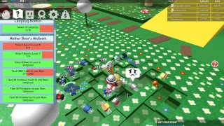 ROBLOX bee swarm sim grind bru also other games xd