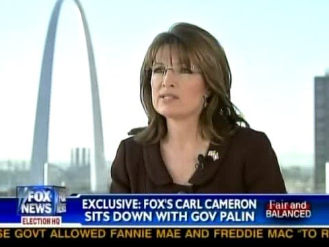 Cameron interviews Palin: FNC 10/03/08