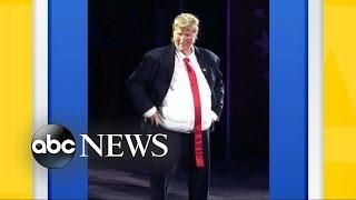 Meryl Streep Dressed Up as Donald Trump