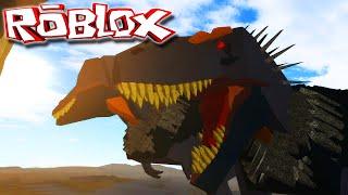 """Hell Creek """"Roblox"""" (Gameplay/PT-BR) - Caçando Em Bando! """"Tiranossauro Rex"""""""
