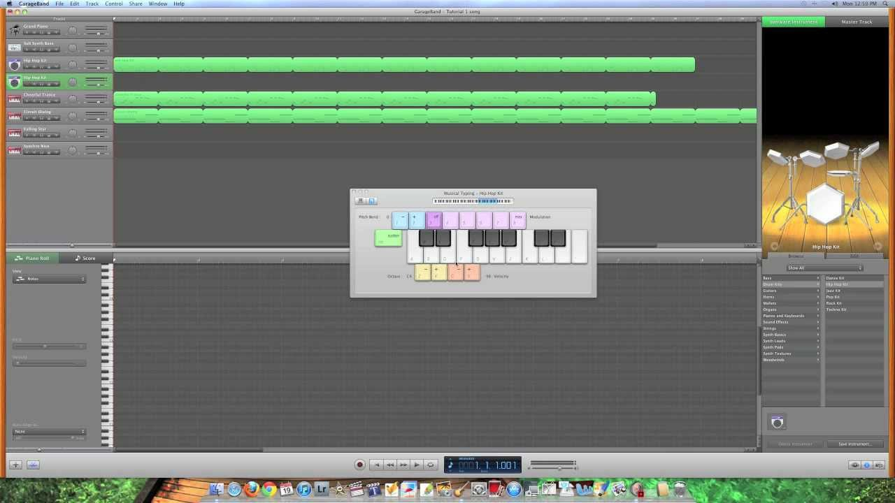 Garageband Na Pc Garage Band Beginner Tutorial Hd Tutorial 1