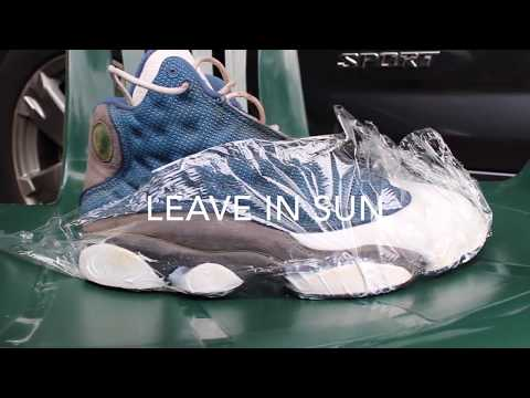 Nike Air Jordan Flint Blue 13 Retro Restoration Clean Up