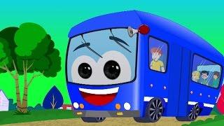 Ruedas en el autobús | canción para niños | Preschool Rhyme | Bus Song For Kids | Wheels On The Bus