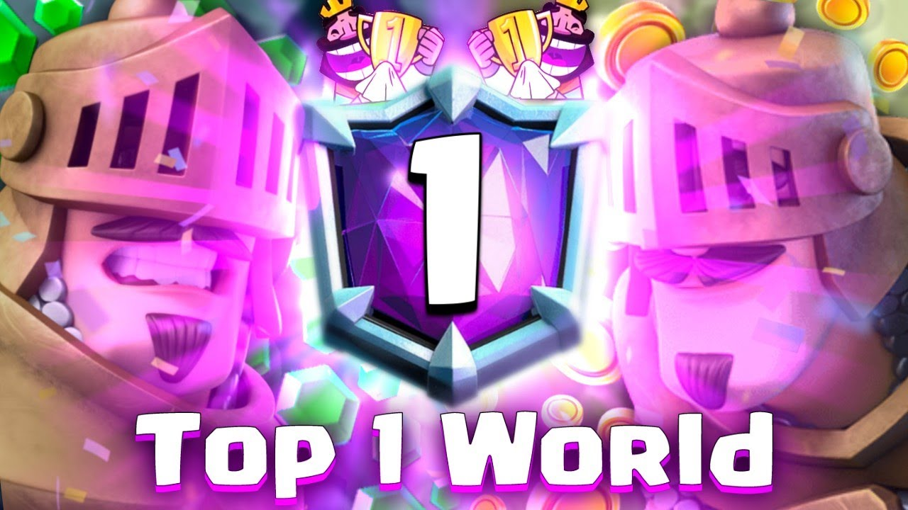 TOP 1 OF THE WORLD LADDER! Clash Royale
