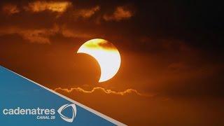 Eclipse parcial de Sol podrá verse en México